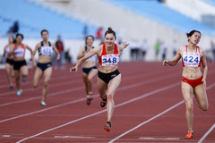Vietnamese athletes eyeSEA Games and Olympics