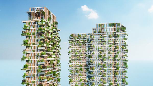 Báo Singapore: Sol Forest sẽ là toà tháp xanh cao nhất Đông Nam Á