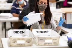 Phát hiện thêm hàng loạt phiếu chưa kiểm ở Georgia