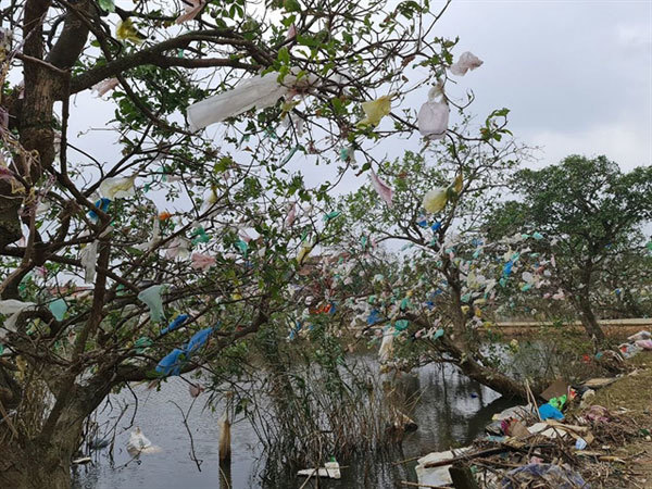 Trash for cash: Group calls on locals to clean up village after flood