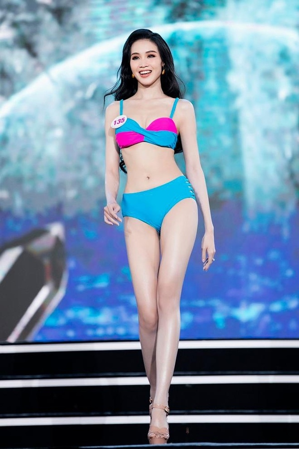 Nữ sinh 20 tuổi, eo nhỏ nhất 58cm vào chung kết Hoa hậu VN 2020