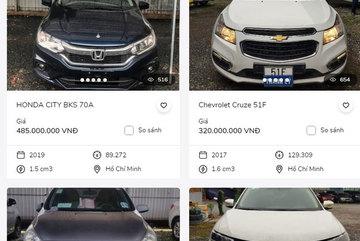 Ngân hàng lại đồng loạt rao bán ô tô giá rẻ