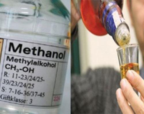 Khó phân biệt rượu an toàn và rượu chứa cồn công nghiệp methanol
