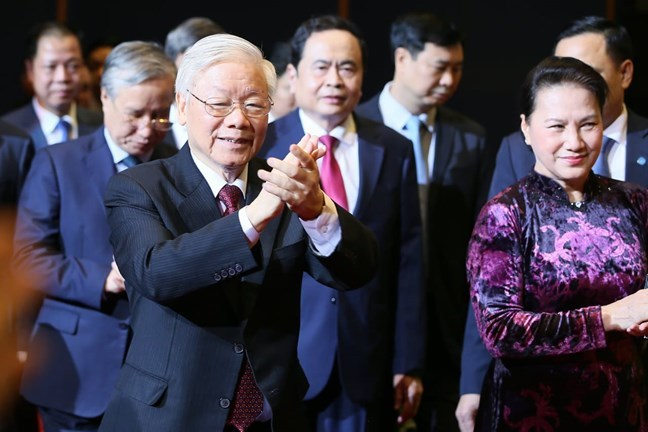 Tổng Bí thư: Đảng không đứng ngoài, đứng trên để lãnh đạo Mặt trận