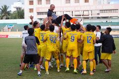 HLV Sài Gòn FC bị tố 'đi đêm' lôi kéo cầu thủ đội khác