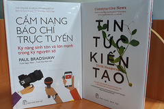 Ra mắt 2 cuốn sách là tài liệu nghề nghiệp hữu ích cho báo chí