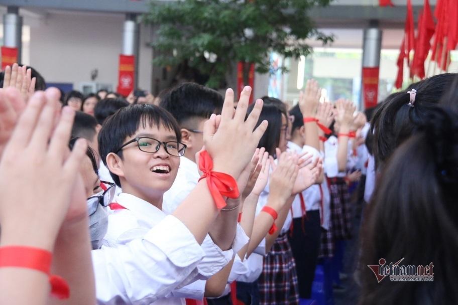 Trường THCS Cầu Giấy kỷ niệm 10 năm thành lập