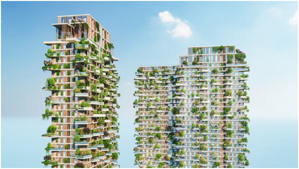 Tháp xanh Ecopark 'ghi dấu' trên loạt báo quốc tế