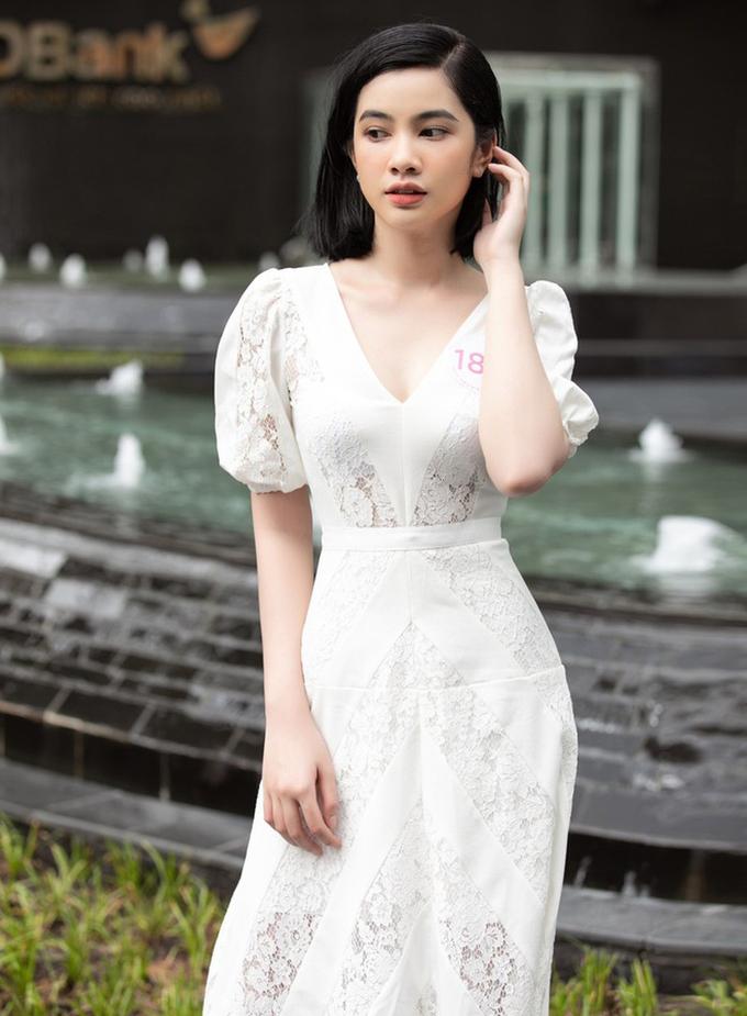 Cô gái giảm 10kg, tóc ngắn duy nhất vào chung kết HHVN 2020