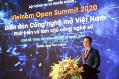 Toàn văn phát biểu của Bộ trưởng Nguyễn Mạnh Hùng tại diễn đàn công nghệ mở Việt Nam