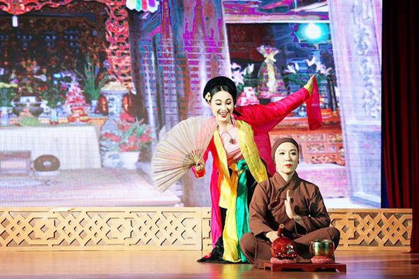 traditional theare,vietnam folk arts