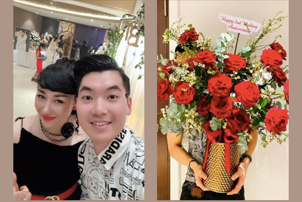 Trương Nam Thành kỷ niệm 2 năm cưới vợ đại gia hơn 15 tuổi