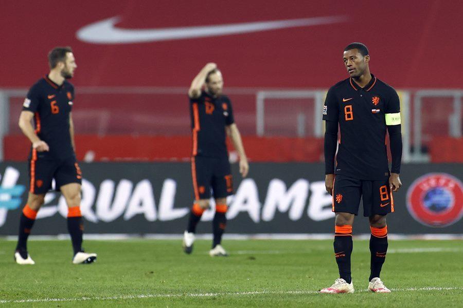 Bắn hạ 'Đại bàng trắng', Hà Lan vẫn ngậm ngùi dừng bước