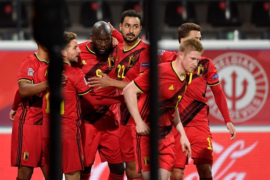 Lukaku chói sáng, Bỉ đoạt vé bán kết Nations League