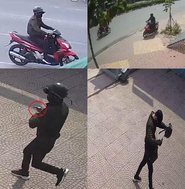 Công bố hình ảnh kẻ cướp ngân hàng ở Bình Dương