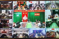 Phòng chống dịch COVID-19: Hội nghị trực tuyến hướng dẫn sử dụng phần mềm quản lý người nhập cảnh