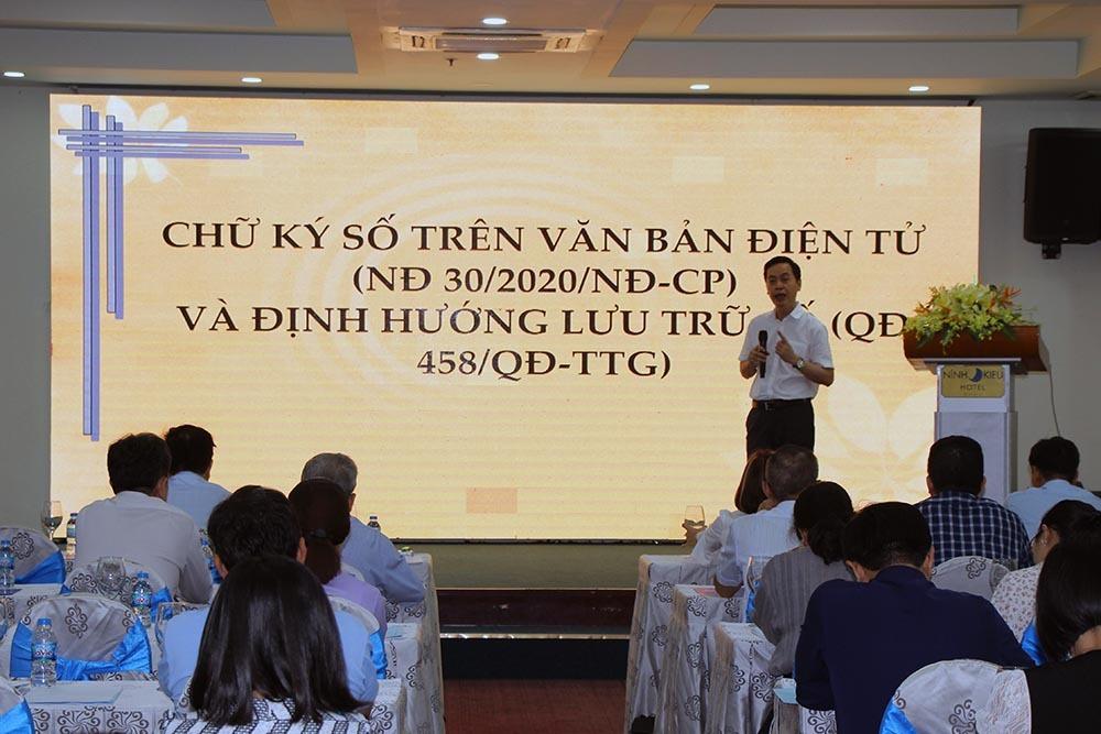 Đẩy mạnh sử dụng chữ ký số trong cơ quan nhà nước, doanh nghiệp