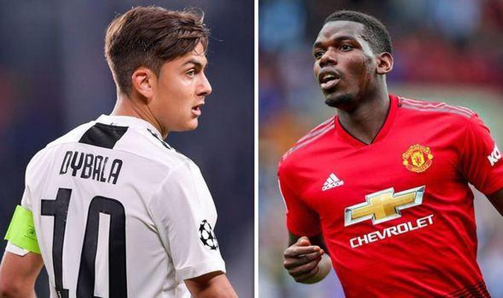 MU và Juventus đồng ý hoán đổi Pogba với Dybala