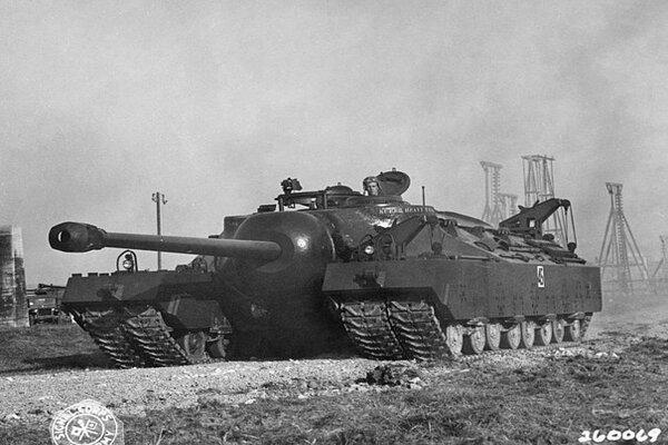 Tìm hiểu 'siêu xe tăng' Mỹ  chế tạo trong Thế chiến Hai