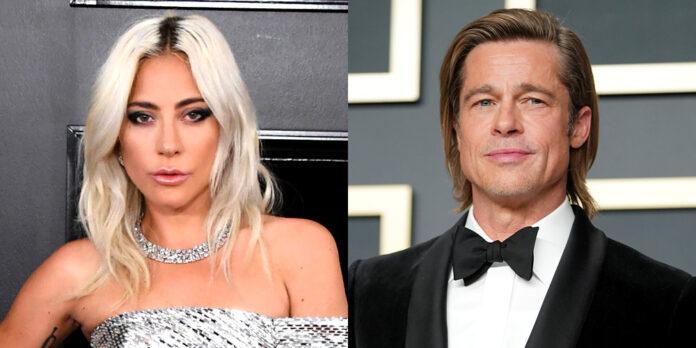 Lady Gaga lần đầu đóng chung phim với Brad Pitt