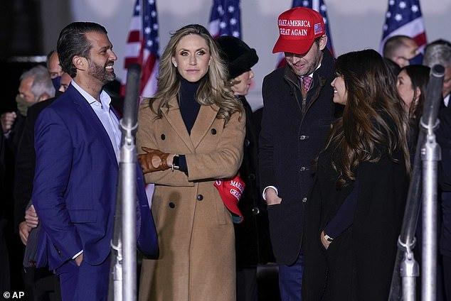 'Mỹ nhân' nhà ông Trump lộ ý định tranh cử
