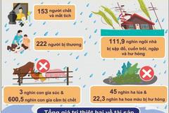 Tổng cục Thống kê công bố số liệu thiệt hại do thiên tai xảy ra trong tháng 10
