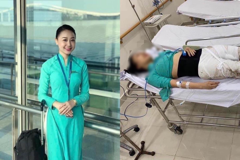 Nữ tiếp viên hàng không bịxe Mercedes đâm'kêu cứu'