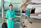 Nữ tiếp viên hàng không bịxe Mercedes đâmkêu cứu