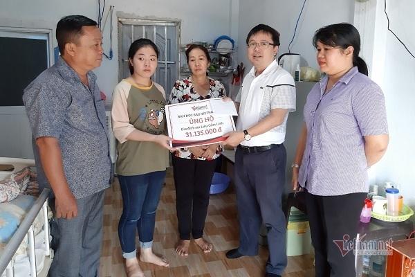 Gia đình em Cẩm Linh vẫn rất cần sự giúp đỡ