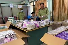 Thu giữ hơn 130 ngàn đơn vị thuốc tân dược trôi nổi