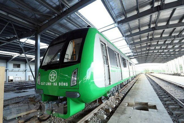 Cat Linh-Ha Dong urban railway test run finally set for next month