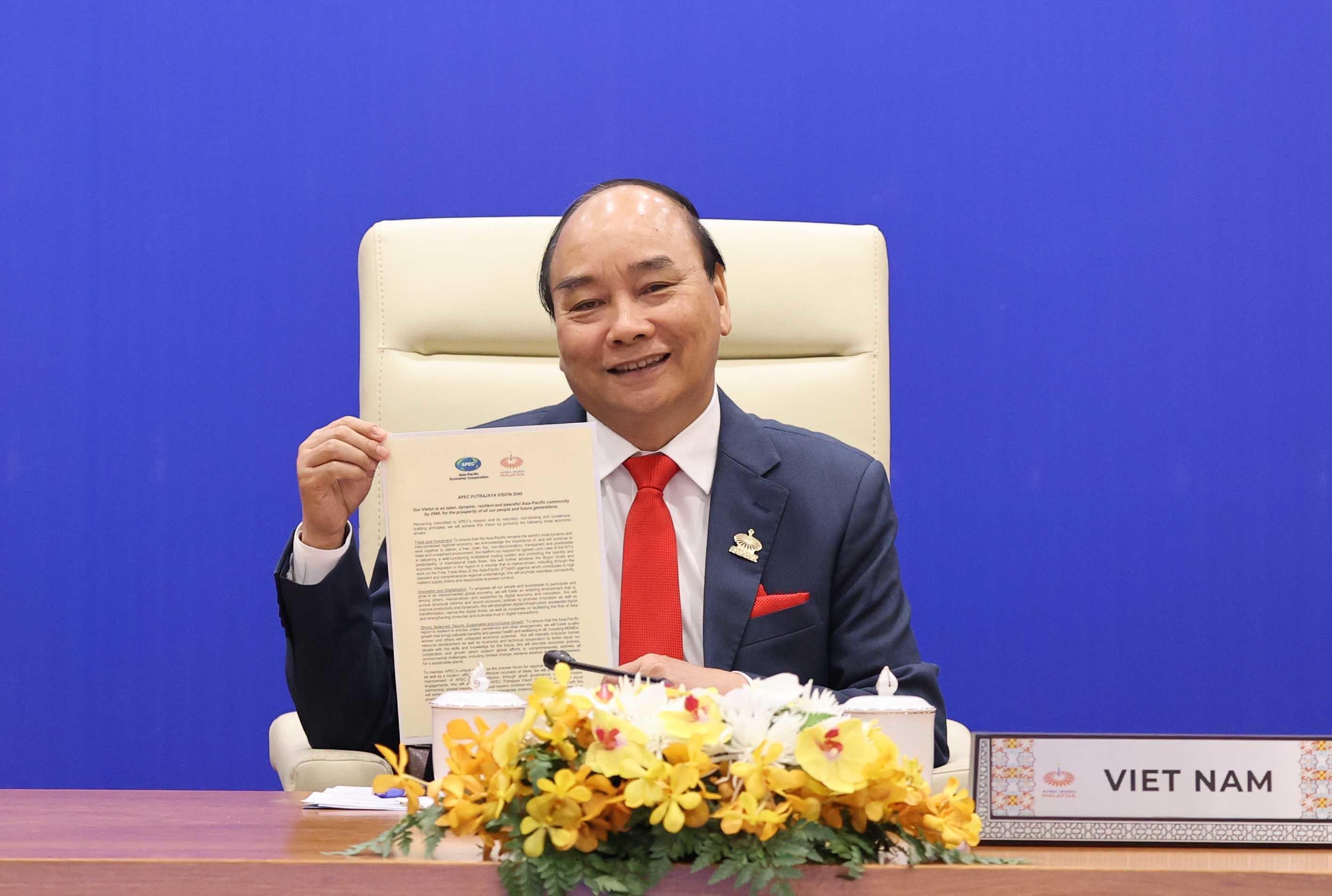 Việt Nam đồng hành cùng APEC biến tầm nhìn và ước vọng thành 'trái ngọt'