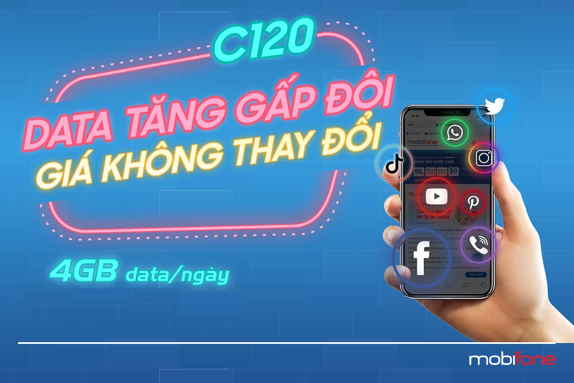 Lướt web, gọi điện 'thả ga' với C120 của MobiFone