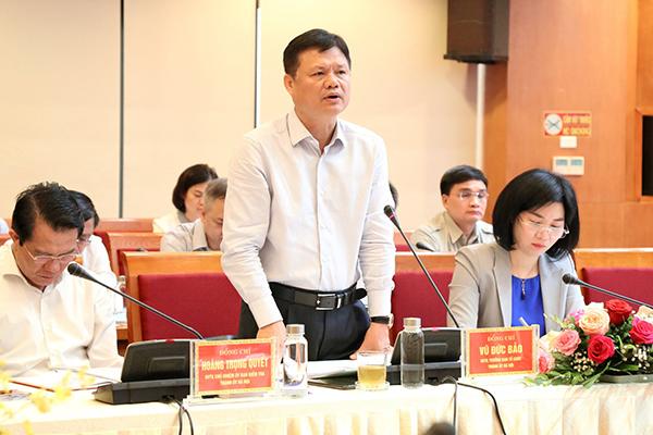 Bí thư Hà Nội: Hà Đông phải có khát vọng thành cực tăng trưởng của Thủ đô