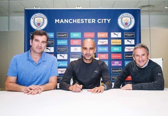 Man City thưởng siêu khủng cho Pep Guardiola ở hợp đồng mới