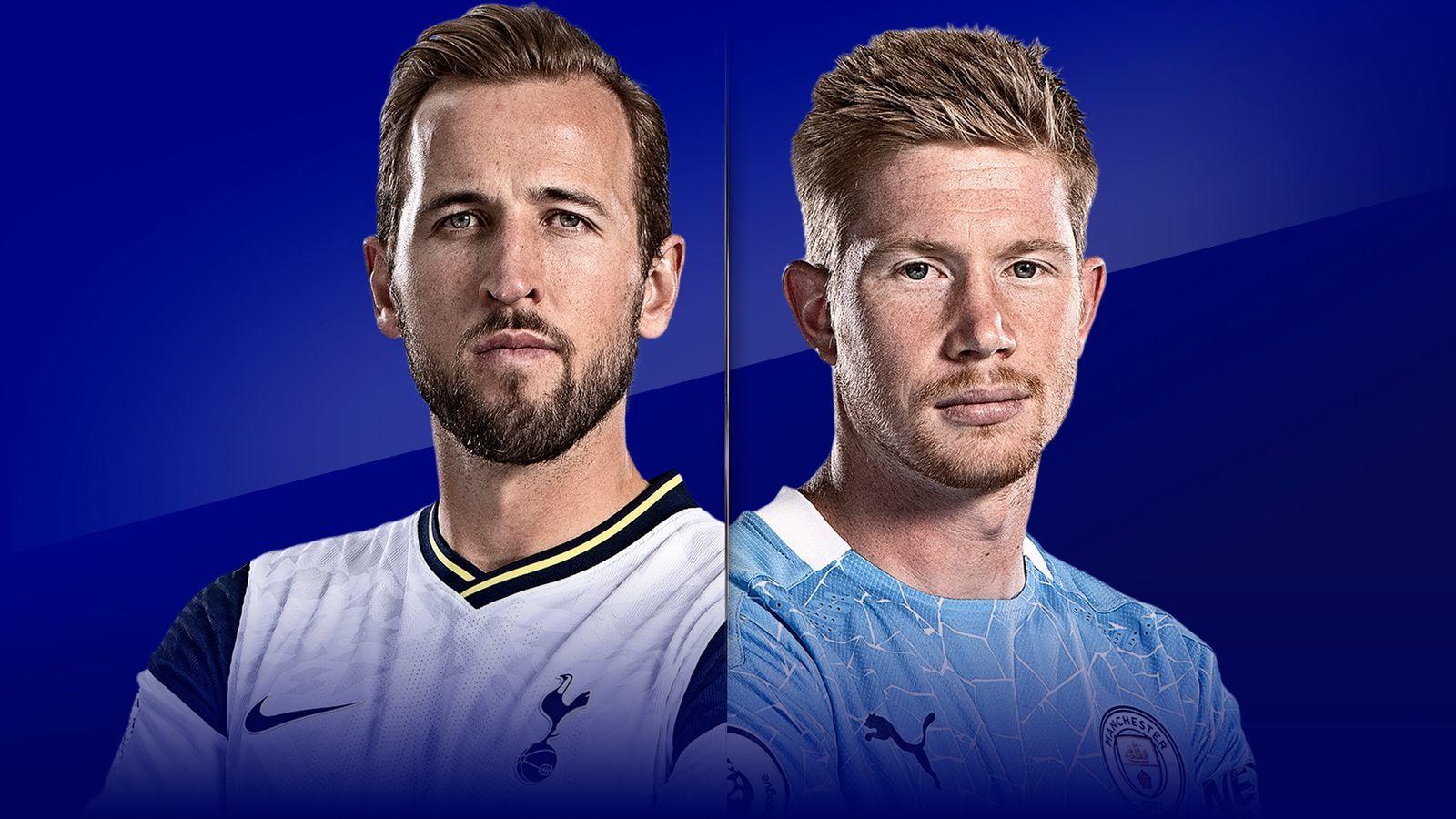 Trực tiếp Tottenham vs Man City: Đôi công rực lửa