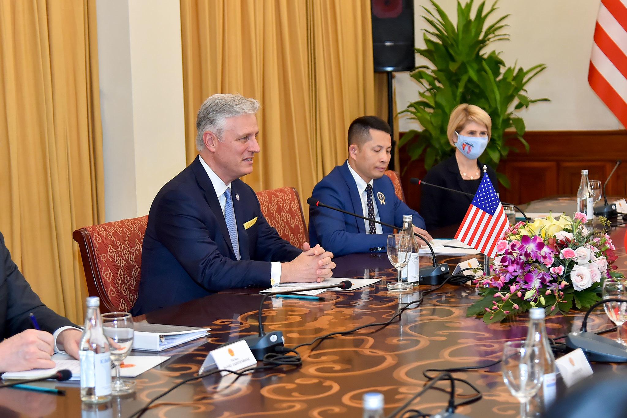 Quan hệ Việt Nam - Mỹ phát triển mạnh mẽ