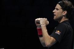 """Hạ Djokovic sau 2 loạt """"đấu súng"""", Thiem vào chung kết ATP Finals"""