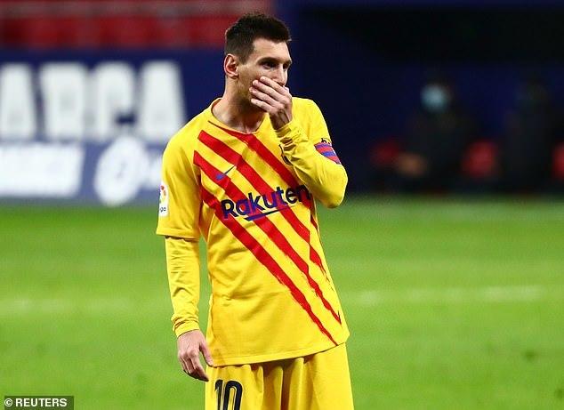 Messi tịt ngòi, Barca thua đau Atletico