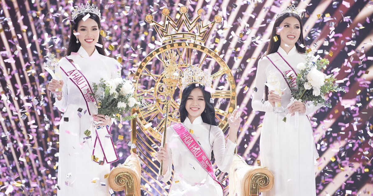 Á hậu 1 ấn tượng nụ cười, đôi chân 1,11m của Hoa hậu Đỗ Thị Hà