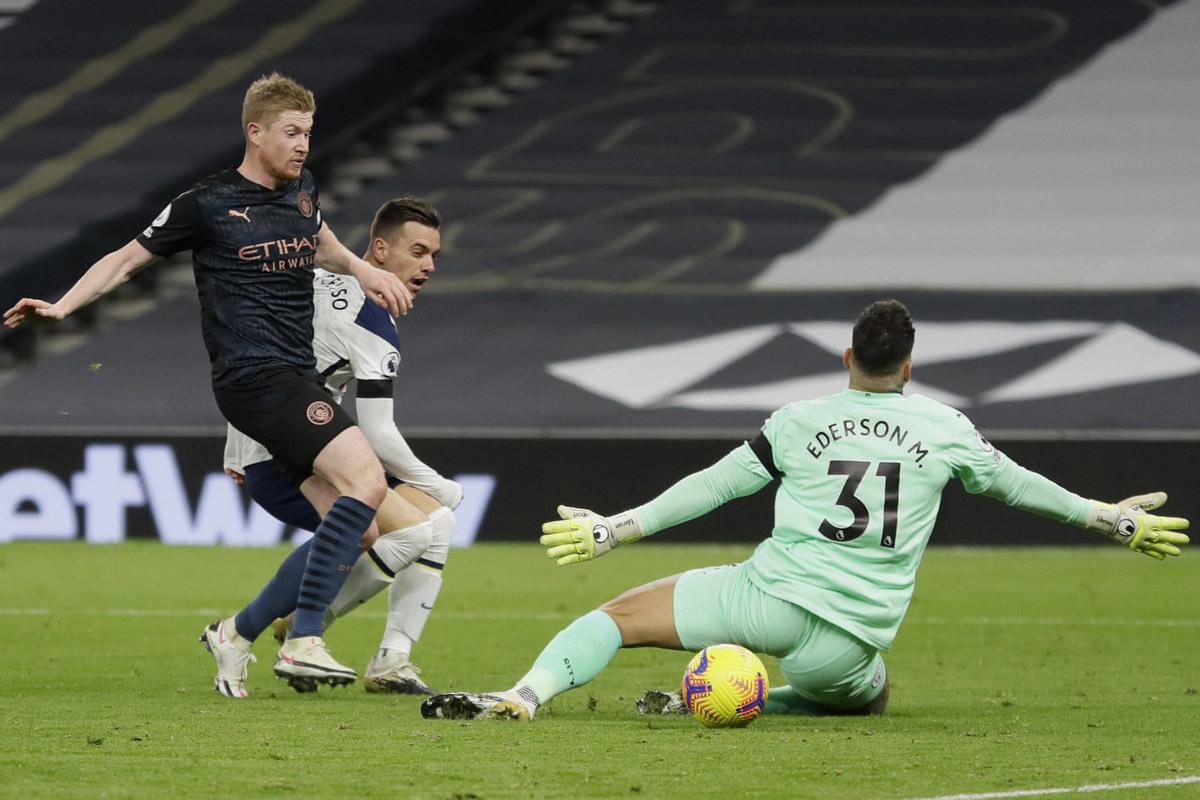 Tottenham thắng đẹp Man City: Nụ cười Mourinho
