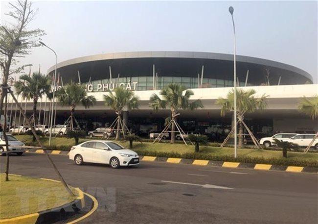 Phu Cat Airport,Binh Dinh province. vietnam economy