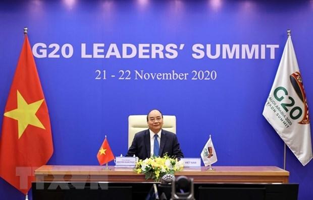 Prime Minister addresses virtual G20 Leaders' Summit