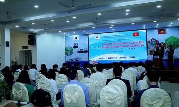 TP Hải Phòng tổ chức phiên kết nối cung cầu công nghệ Việt Nam – Nhật Bản