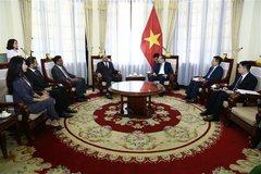 Vietnam, Oman to foster bilateral trade