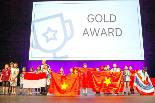 natural talent,Vietnamese students,Kim Dong Prize,Vietnam education