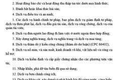 Người nước ngoài không được làm dịch vụ mai táng ở Việt Nam