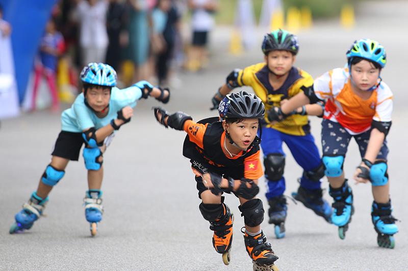 Giải đấu tìm kiếm tài năng trượt băng tốc độ Việt Nam