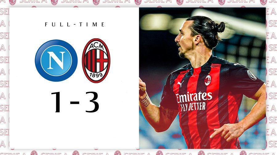'Ông già' Ibrahimovic lập cú đúp, Milan đòi lại ngôi đầu
