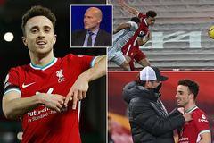 Diogo Jota lập kỷ lục mới ở Liverpool, nhận mưa lời khen